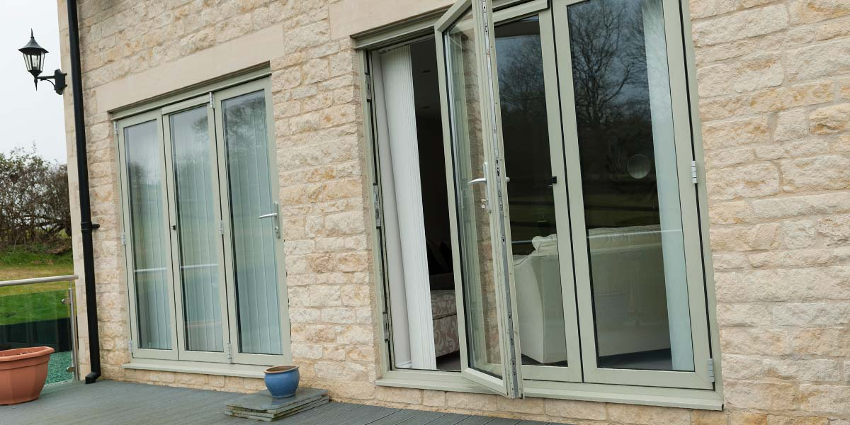Green Aluminium Windows Amp Aluminium Bi Folding Doors From