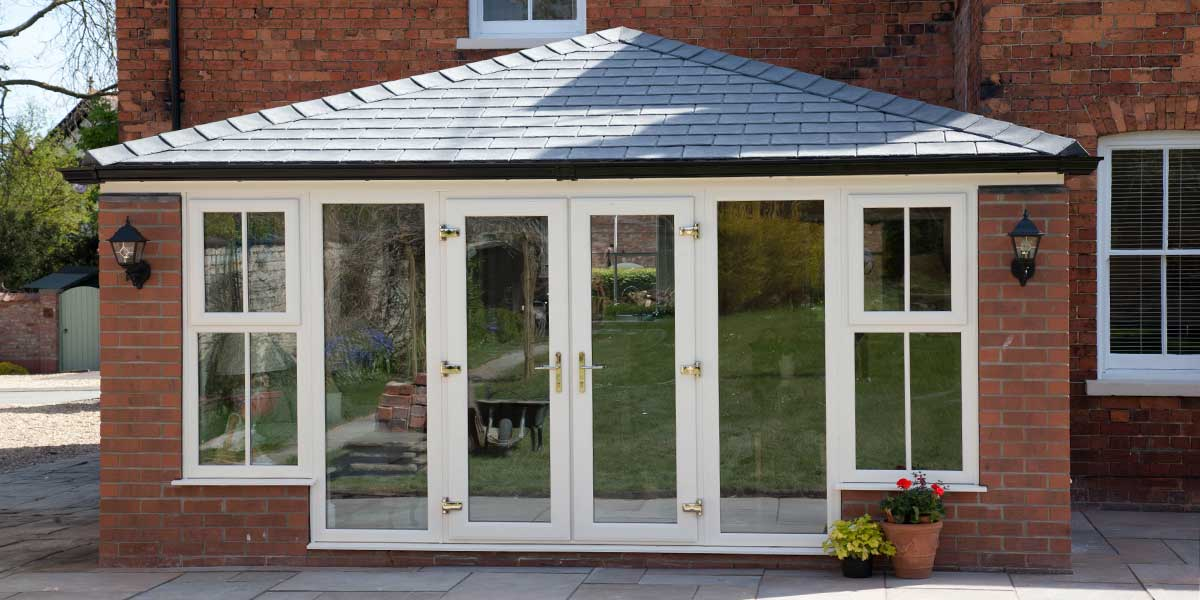 Solid Roof Orangeries Tiled Roof Orangery From Planet